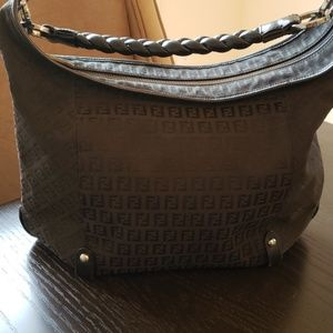 Fendi Bags - Fendi black Weave Handle Bag